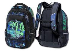 Studentský batoh Spray Day Green - zelená Walker