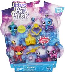 Littlest Pet Shop Kosmická zvířátka 10ks
