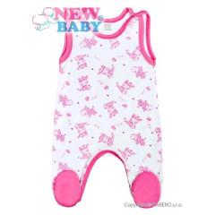 Kojenecké dupačky New Baby Zebrababy II růžové