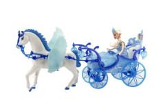Princezna v kočáře s okřidleným koněm