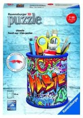 Stojan na tužky Graffiti; 3D, 54 dílků
