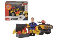 Požárník Sam Mercury čtyřkolka s figurkou