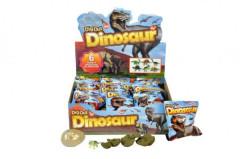 Dinosaurus vejce zkamenělina v sáčku 11x13cm