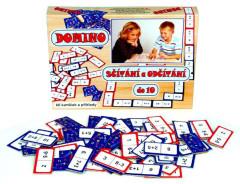 Domino sčítání a odčítání do 10