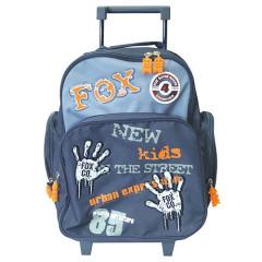 Školní batoh trolley Cool - Fox Co. otisky rukou