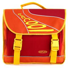 Školní taška BeCool - Oranžovo-žlutá