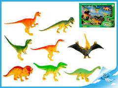 Dinosauři 9-13cm 8ks v krabičce