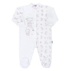 Kojenecký overal New Baby Bears Růžový