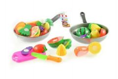 Ovoce či zelenina krájecí+pánev plast 30cm