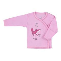 Kojenecká bavlněná košilka Koala Happy Baby růžová
