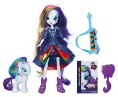 My Little Pony Equestria girls s poníkem RARITY