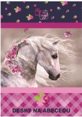 Desky na abecedu Junior kůň NEW 2017