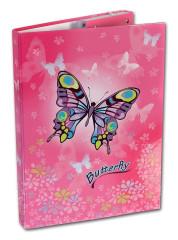 Školní box A4 BUTTERFLY, Emipo