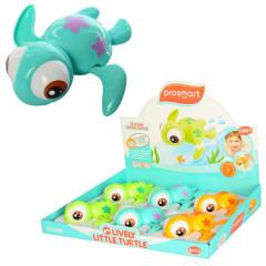Želvička s velkýma očima do vody natahovací plavací