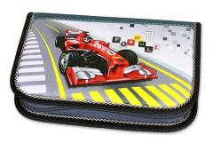 Školní pouzdro 2-klopy prázdné Formule Racing Emipo