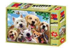 Puzzle Psi 48 dílků 3D