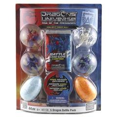 Stavebnice Dragons Universe Mega Bloks 2 mini dračí vejce mini