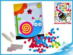 Kreativní sada Mister Maker plyšové kuličky zvířátko