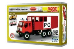 Stavebnice Monti 12.2 Tatra 815 Hasiči Požární ochrana 1:48