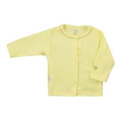 Kojenecký bavlněný kabátek Koala Happy Baby žlutý