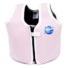 Dětská plavací vesta Růžová kostka