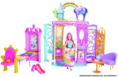 Barbie duhový zámek FTV98
