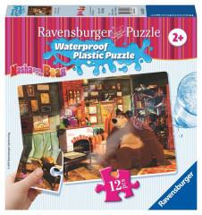 Puzzle Máša a Medvěd 12 plast. dílků IV - U KRBU