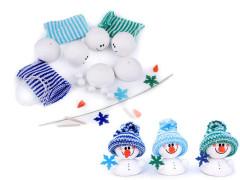 Kreativní sada sněhuláci 3 ks