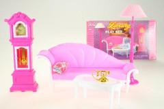 Glorie Luxusní nábytek pro panenky Barbie a jiné podobné