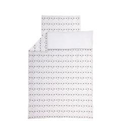 Povlečení do postýlky 2 dílné žerzej 100 x 135 cm - Láska