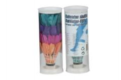Košíčky na badminton péřové barevné 4ks