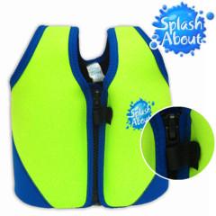 Dětská plavací vesta 1-6 let - zelenomodrá