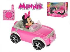 Auto Minnie RC plast 17cm