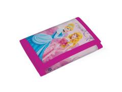 Peněženka na suchý zip textilní Princess
