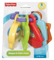 Fisher Price barevné klíčky