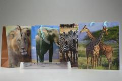 Dárková taška afrika 18 x 21 cm