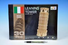 Pěnové puzzle 3D Šikmá věž Pisa 30 dílků