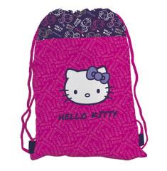Sáček (nejen) na cvičky, přezůvky Hello Kitty
