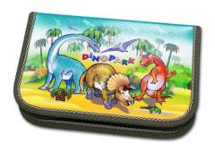 Školní pouzdro 1-klopa plné Dinopark Emipo