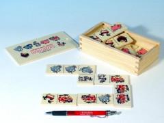 Dřevěné domino zvířátka pana Müllera