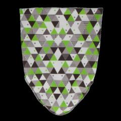 Funkční nákrčník se zelenými trojúhelníky RDX