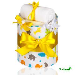 Plenkový dort, malá žirafa
