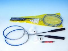 Badminton sada 2 rakety + 2 košíčky  v tašce