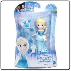 Frozen malé panenky - Elsa v zelených šatech