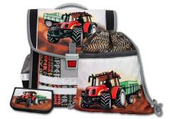 Aktovkový set 3-dílný Traktor Emipo