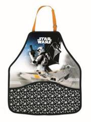 Zástěra Star Wars černo-bílá