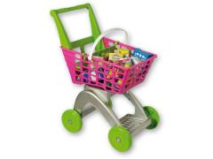 Nákupní vozík - rozložený