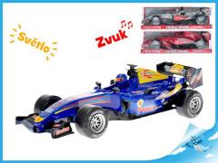 Formule 26cm na setrvačník na baterie se světlem a zvukem 3barvy v krabičce