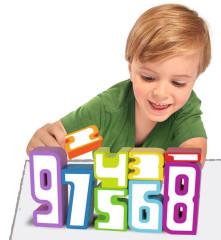 Dřevěné číslice Simba