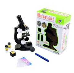 Mikroskop plast na baterie se světlem